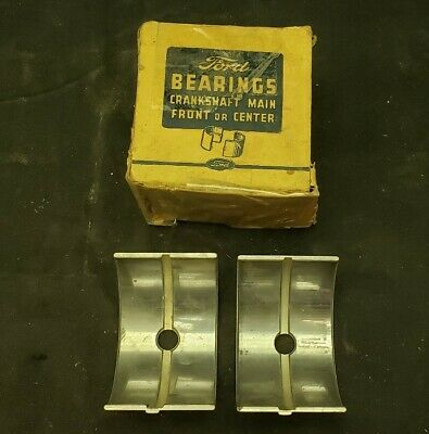 1937-1939 NOS Ford 60 HP Flathead Front/Center Crank Bearing /STD 52-6333-A