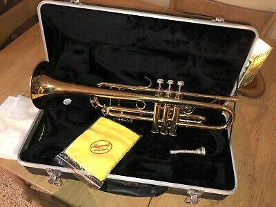 Harmony Trumpet Instrument Mouthpiece & Case Never Played Excellent Condition