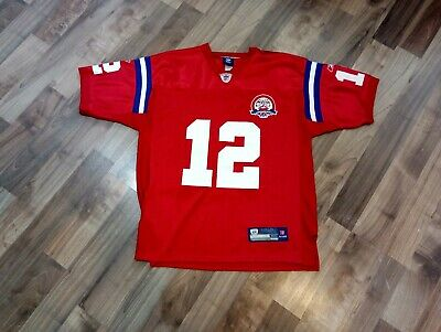 a4fd8bed Reebok New England Patriots Tom Brady Jersey Throwback 50th Anniversary Men  50