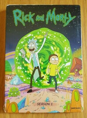 Rick and Morty: The Complete First Season (DVD, 2014, 2-Disc Set) New Unopened