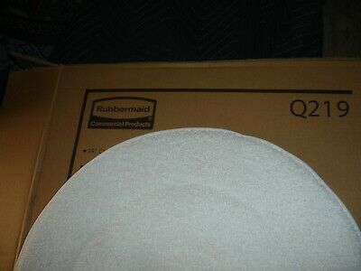 "New Rubbermaid Commercial 19"" Carpet Bonnets 2 Boxes / 10 Bonnets Total"