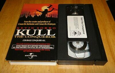 Kull the Conqueror (VHS, 1997) Kevin Sorbo Fantasy Rare Screener Demo Promo
