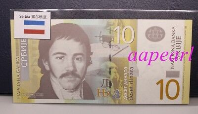 Serbia banknotes with Flags Collections real paper money Uncirculated 1pcs