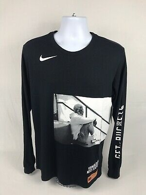 4b3d2f44 NEW! Men's Nike Uncle Drew Kyrie Irving Long Sleeve T-Shirt Size Medium W