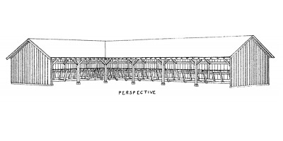 Collection of Over 60 Vintage Cattle/Cow Building Plans