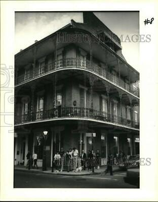 1990 Press Photo View of Royal Street in New Orleans - noc60544