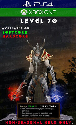 DIABLO 3 - PS4 - Xbox One - Immortal Ring + Grift Ring