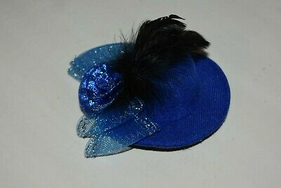Elegant Mini Top Feather Hat Fascinator Hair Clip Party Costume Hair Accessory