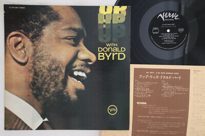 LP DONALD BYRD Up With Donald Byrd MV2091 VERVE JAPAN Vinyl