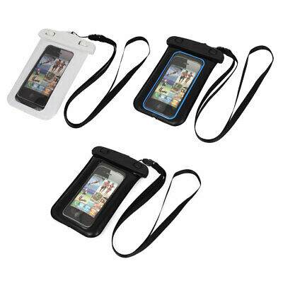 """Waterproof Case Dry Bag Cover Pouch Holder + Neck Strap for 4.7"""" Cell Phone"""