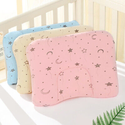Infant Baby Soft Anti-rollover Pillows Prevent Flat Head Pillow Positioner Cute