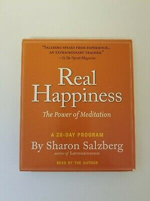 Real Happiness: The Power of Meditation - A 28-Day Program (CD, 2011)