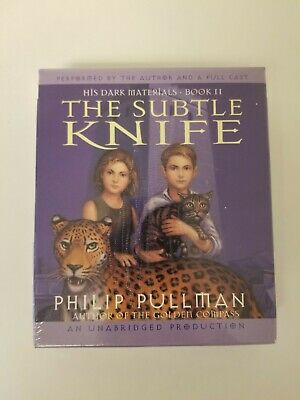 NEW The Subtle Knife His Dark Materials Book 2 by Philip Pullman CD audio