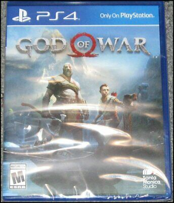 God of War - Sony PlayStation 4 - PS4 - 2018 - Brand New and Sealed