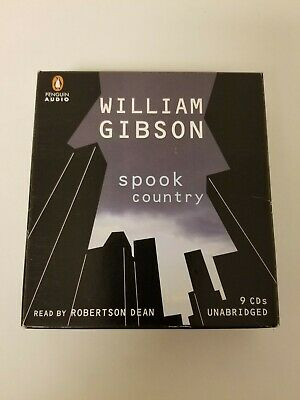 Audio Books on CD,  Spook Country by William Gibson 9 cds Unabridged