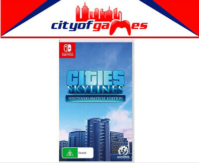 Cities Skylines Nintendo Switch Game New Pre Order