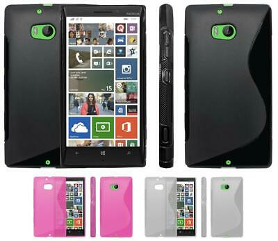 sports shoes 7aae7 6c2e8 REAL LEATHER WALLET Case For Nokia Lumia 520, 625, 630, 830, 920 ...