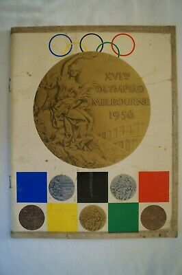 Olympic Games Collectable 1956 Melbourne The Argus Games of XVI Olympiad Magazin