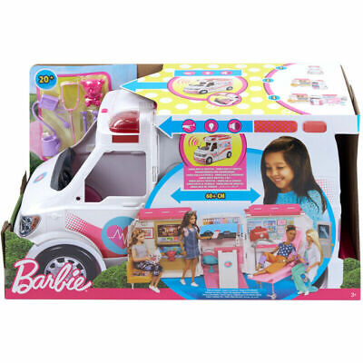 Mattel Barbie Care Clinic Vehicle Toy