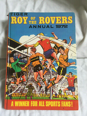 VINTAGE TIGER Roy of the Rovers Annual 1972