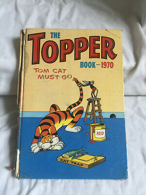 VINTAGE The Topper Book Annual - 1970