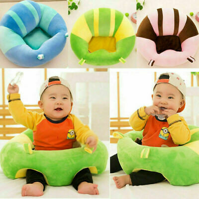 Kids Baby Support Seat Cotton Soft Chair Cushion Sofa Plush Pillow Toy Pads Mat