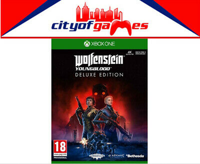 Wolfenstein Youngblood Deluxe Edition Xbox One Game New Pre Order