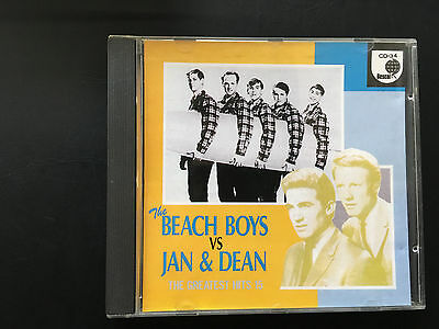 The Beach Boys Vs Jan & Dean:5 Greatest Hits Japanese CD Album CD Oz Seller