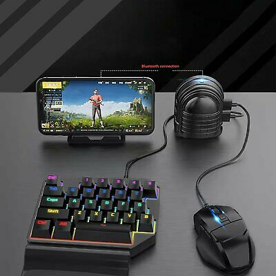 PUBG MOBILE PHONE Gaming Keyboard Mouse Adapter Converter Holder for