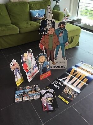FRENCH BD COMIC BOOK SHOP MERCHANDISING CARTLAND DURANGO WOOGEE TIF et TONDU