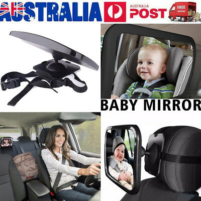 Car Baby Seat Inside Mirror View Back Safety Rear Facing Child Infant Care AU