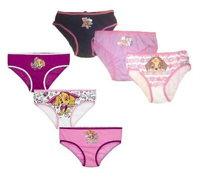 Girls Character 3 Pair Cotton Paw Patrol Briefs Underwear Pants