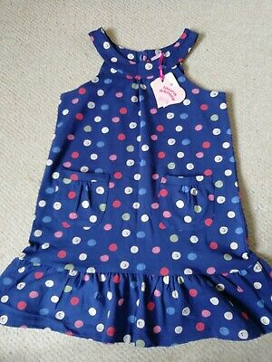 Girls Laura Ashley Summer Dress Age 7-8 Years BRAND NEW WITH TAGS