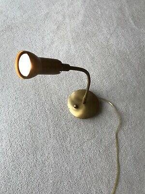 Vintage solid brass Levenger reading table lamp