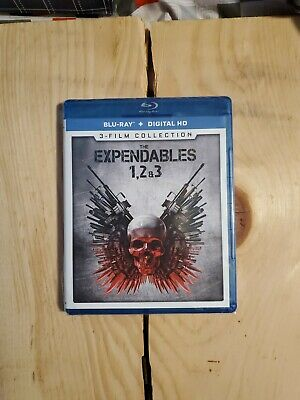 The Expendables 1, 2 & 3: 3-Film Collection [New Blu-ray] 3 Pack, Ac-3/Dolby D