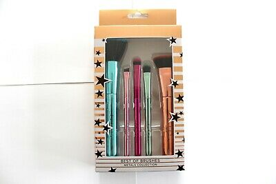 Lottie London Best Of Brushes Metals Collection - 5 Piece Set