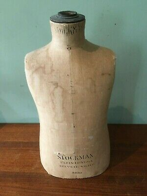 Stockman Antique Tailors Dummy Mannequin. Child age 3 Early model