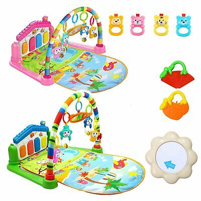 Large Baby Play Mat Kids Gym Playmat 4 in 1 Fitness Music Fun Piano Boys Girls