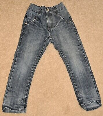 Boys Next size 5 yrs, denim jeans with adjustable waist - good condition