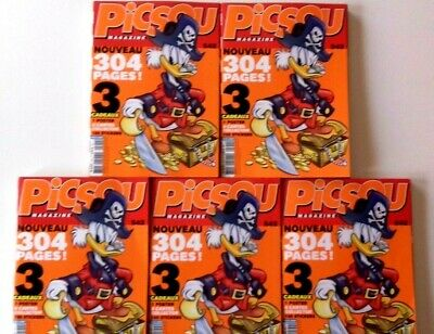 Lot 5 BD PICSOU Magazine Revendeur Destockage