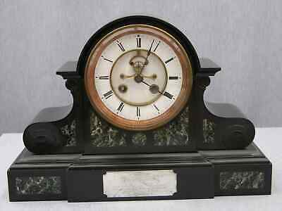 Huge 1869 Victorian Clock, 14-day Marti Movement, Visible Brocot Escapement