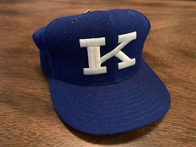 best service f57d7 c6b72 Vintage New Era University Of Kentucky UK Wildcats Fitted Hat 7 1 4 NWT Blue
