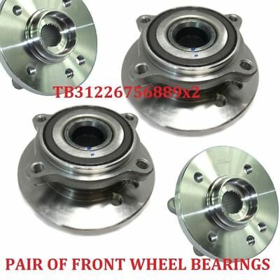 X2Front Wheel Bearing Hub With Abs Sensor Fits  Bmw Mini Cooper ,One 31226756889
