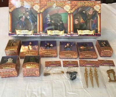 Harry Potter Collection Lot of 15 Ornaments & Figurenes NEW Christmas 2000 2001