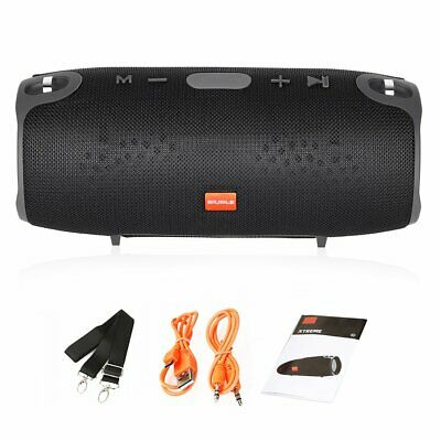 40w Portable Wireless Bluetooth Speaker Waterproof Outdoor Bass USB/TF/AUX MP3