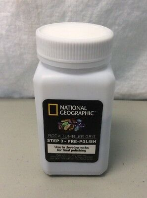 National Geographic Grit Refill for Rock Tumbler (Step 3 Pre-Polish)  READ