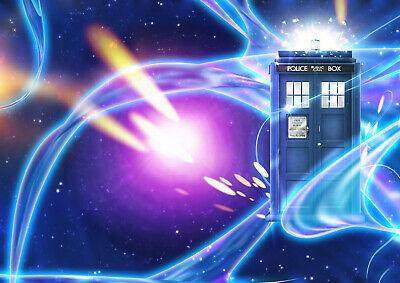Art Print POSTER / CANVAS Dr Who Space Tardis#8