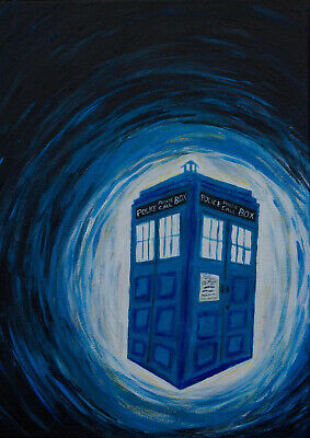 Art Print POSTER / CANVAS Dr Who Space Tardis#12