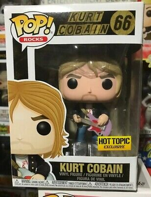 Funko POP! Rocks Kurt Cobain Hot Topic Exclusive