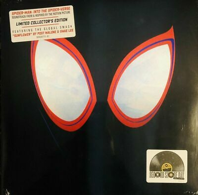 Spider-Man Into the Spider-Verse Vinyl LP RSD 2019 Post Malone FREE SHIPPING!